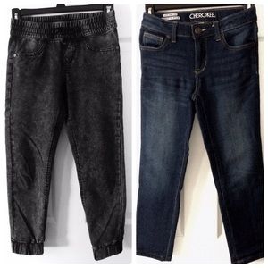 Cherokee Arizona Girls Joggers Skinny Jeans 10